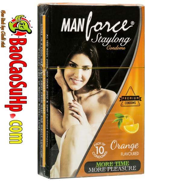 20190707144118 7127254 manforce staylong orange - Bao cao su kéo dài thời gian là gì? Top 10 loại tốt nhất thế giới