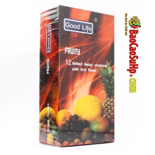 Bao cao su good life fruity hoa quả thơm mát