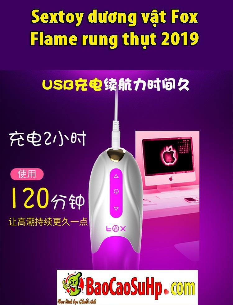 20190807105924 4209281 sextoy duong vat fox flame rung thut 2019 bia 11 - Sextoy dương vật Fox Flame rung thụt 2019