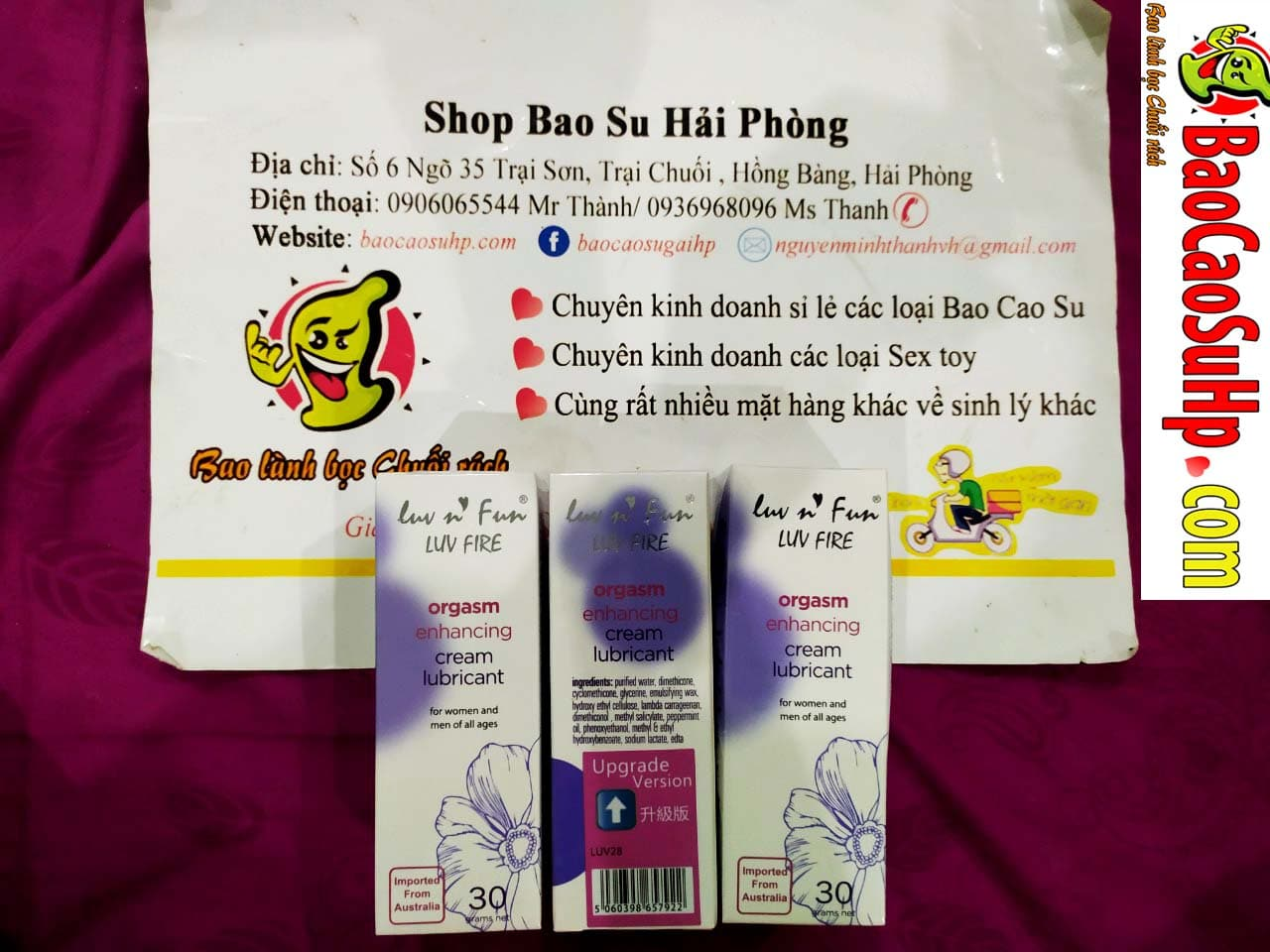 20190820134147 1248065 gel tang khoai cam luvn fun fire - Bao cao su sextoy cao cấp các loại hàng về ngày 20.08.2019