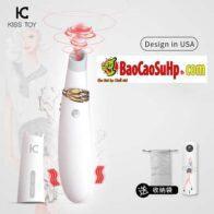 Sextoy máy rung hút vếu kisstoy Miss CC phong cách mỹ