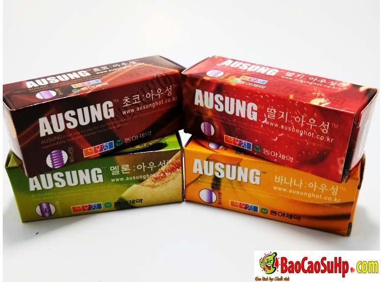 20190917140150 3581710 bao cao su ausung prenium fruity 2 - Bao cao su Hàn Quốc Ausung Prenium Fruity