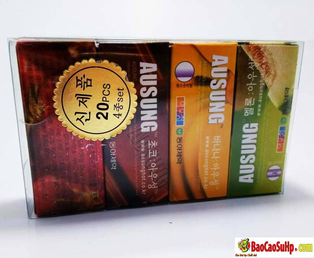 20190917140150 6863314 bao cao su ausung prenium fruity 3 hd 1 - Chày rung vòng đeo dương vật bao cao su bi siêu khủng hàng về 17.09.2019