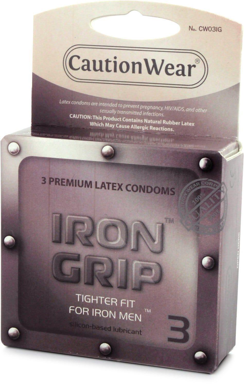 20190922111042 5876574 bao cao su caution wear iron grip snugger fit - Bao cao su nào bán chạy nhất trên thế giới năm 2019?