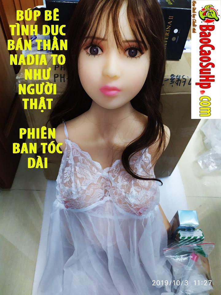 20191003151213 1751205 bup be tinh duc nadian ban toc dai - Búp bê tình dục bán thân Nadia to như người thật