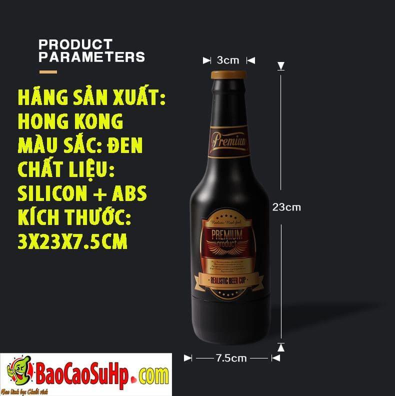 20191015101734 1710618 am dao gia nguy trang chai bia prenium 6 - Đồ chơi người lớn âm đạo giả ngụy trang chai bia Prenium