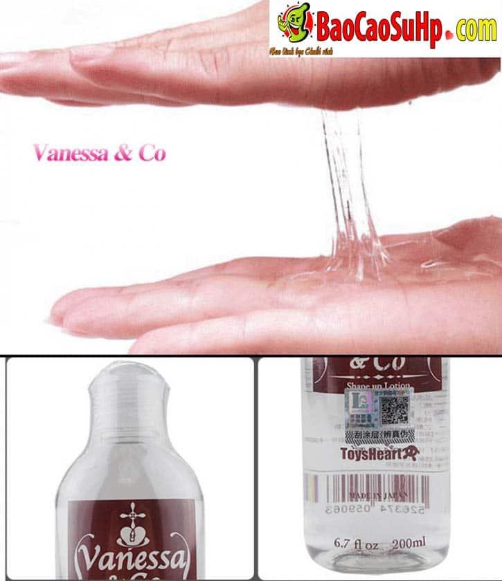 20191016094919 6687420 gel boi tron nhat ban vanessa co 200ml 1 - Gel bôi trơn cho nữ Vanessa & Co Nhật Bản gốc nước 200ml