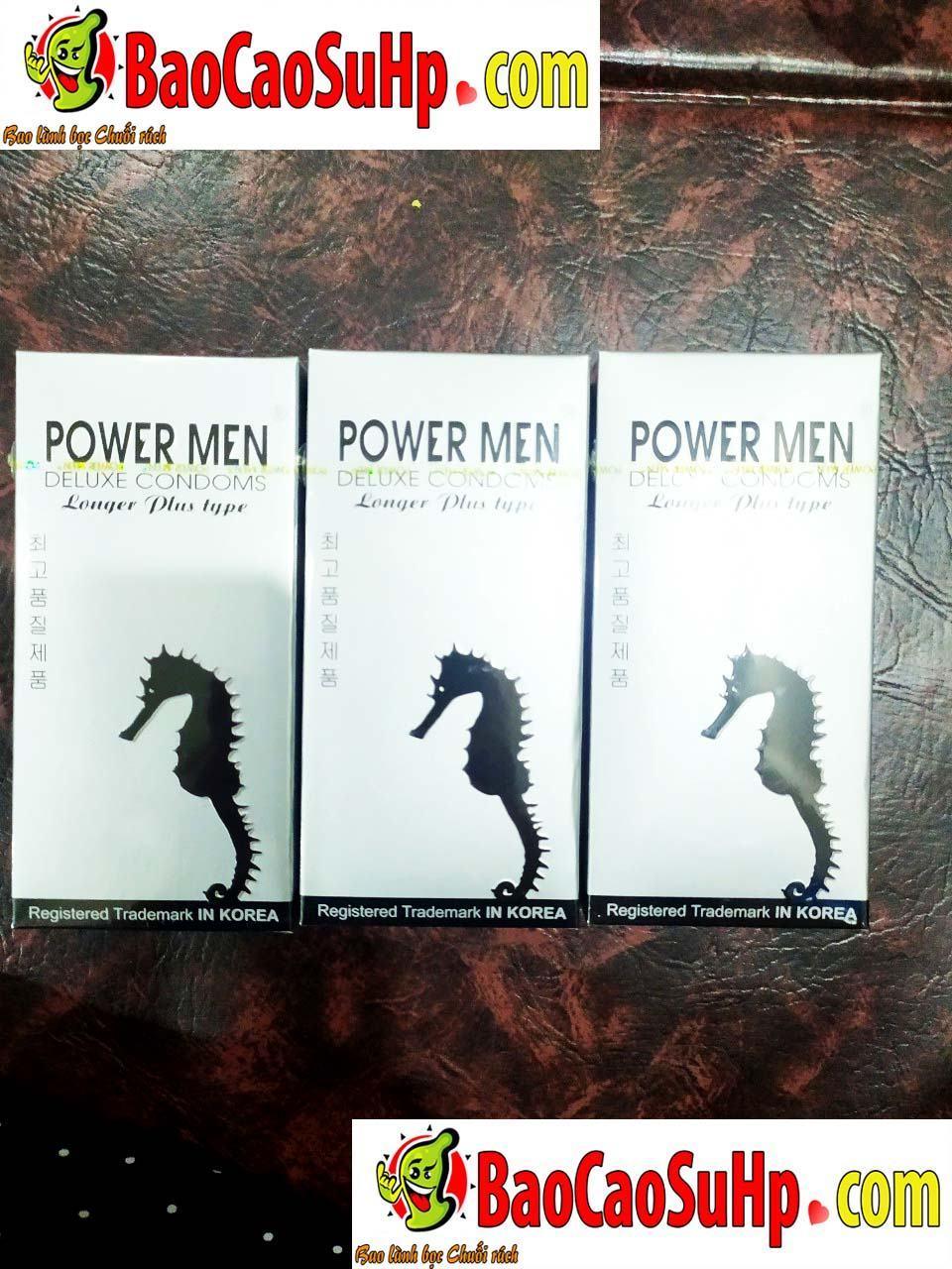 20191027111901 6676179 bao cao su keo dai quan he powermen longer plus 1 - Bao cao su kéo dài quan hệ PowerMen Longer Plus
