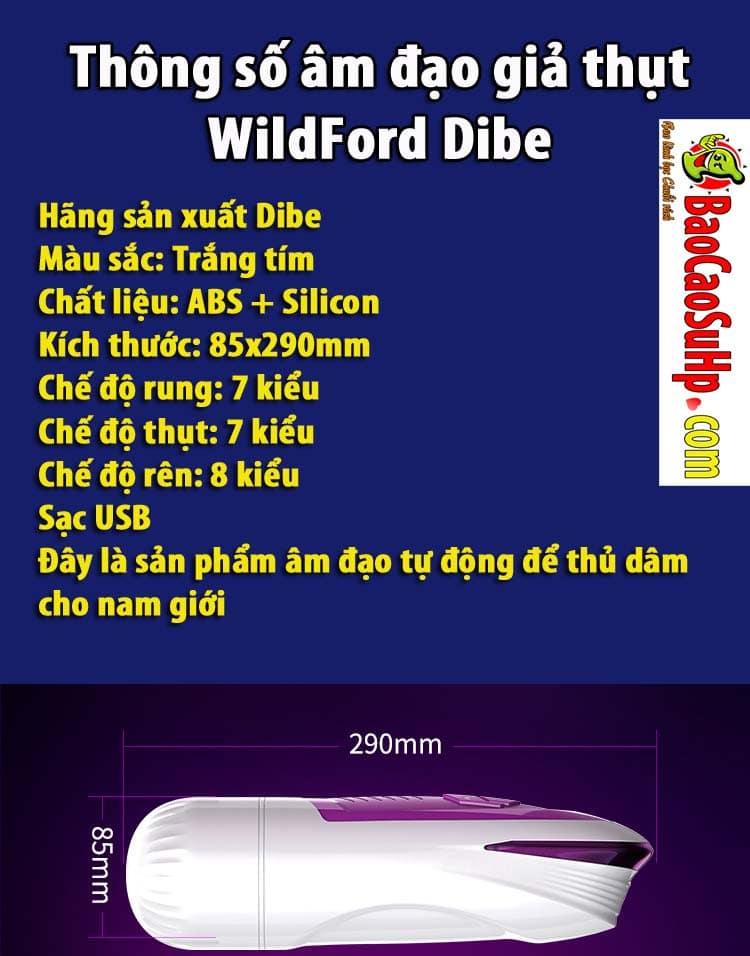 20191209101946 8602786 sextoy am dao gia thut wildford dibe 10 - Sextoy âm đạo giả thụt WildFord Dibe to hơn và sướng hơn