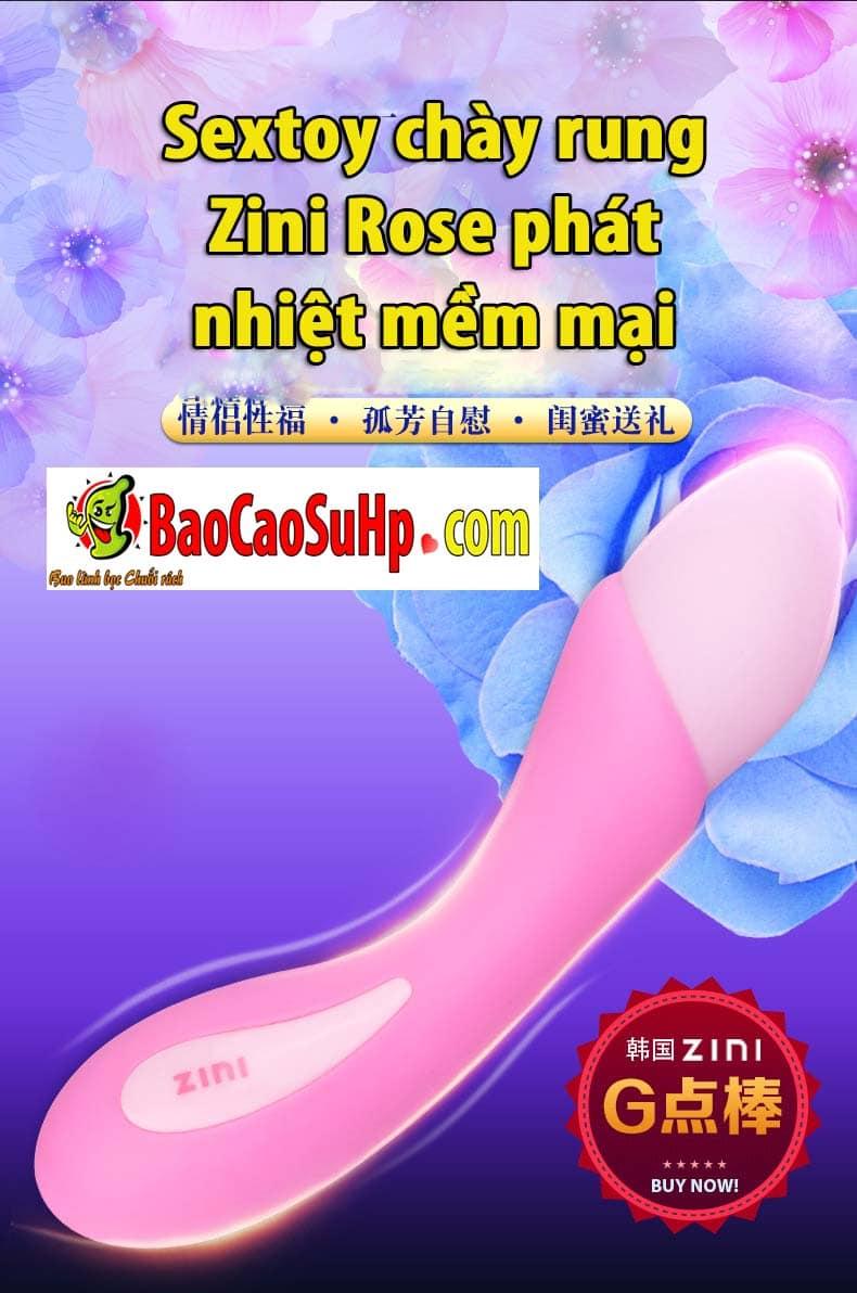 20191215121417 9197233 chay rung zini rose phat nhiet 4 - Sextoy chày rung Zini Rose phát nhiệt mềm mại