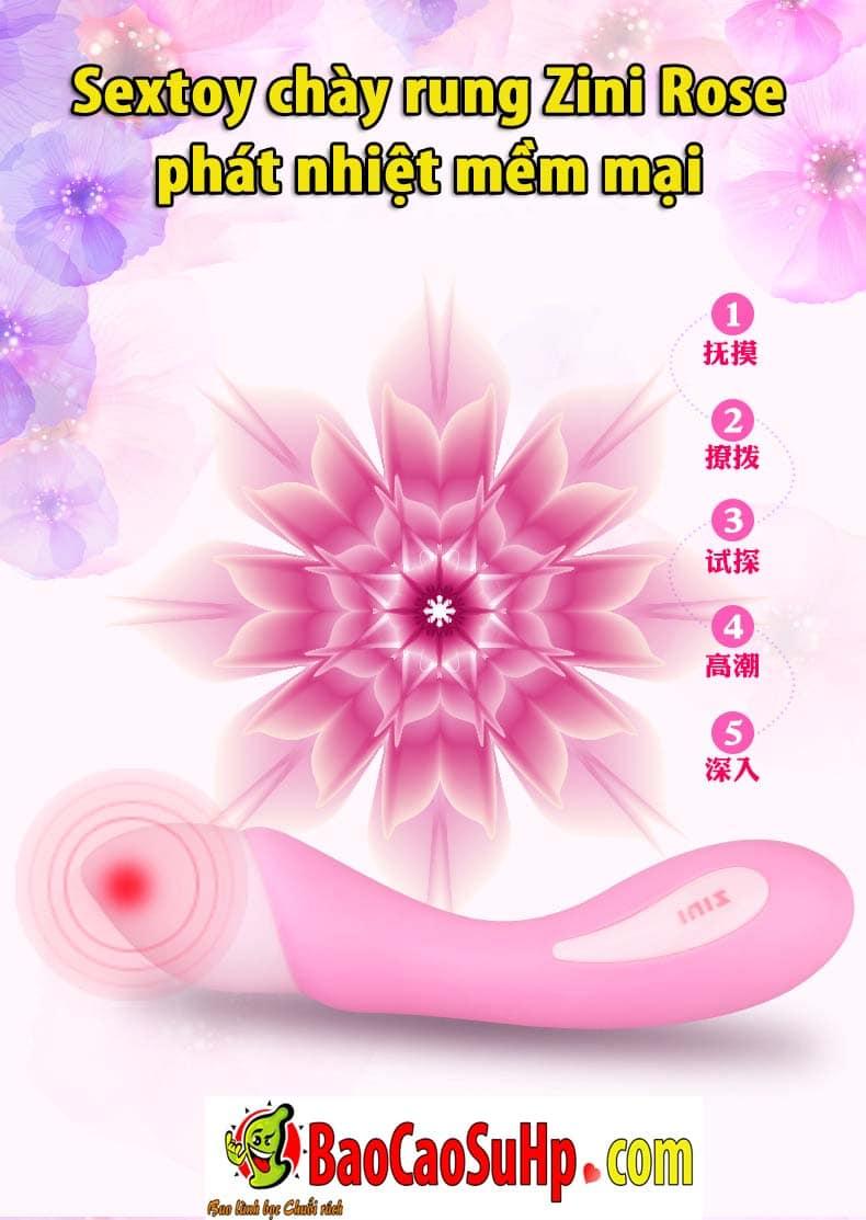 20191215121433 9613397 chay rung zini rose phat nhiet 7 - Sextoy chày rung Zini Rose phát nhiệt mềm mại