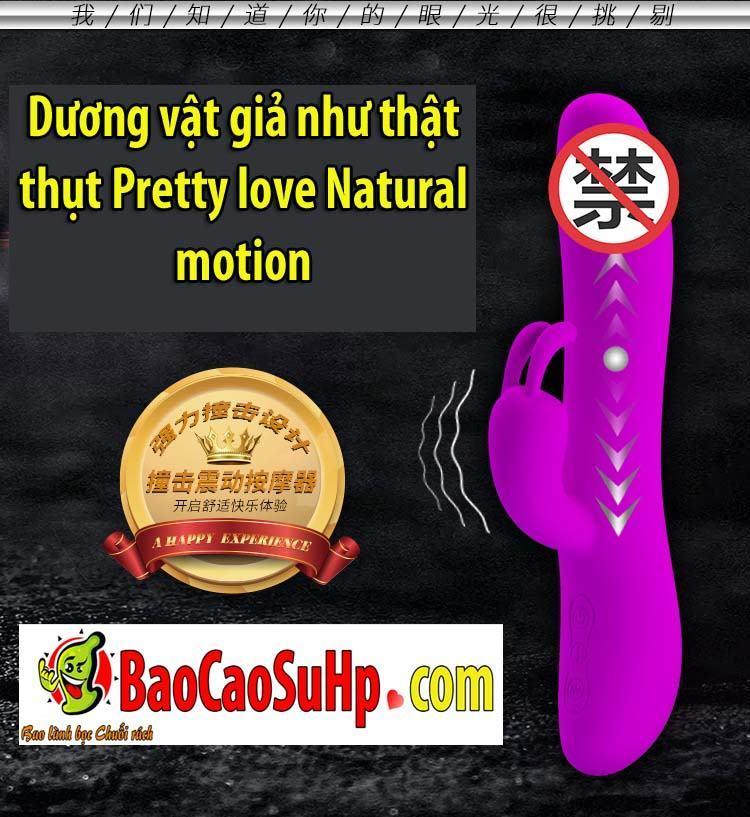 20200107134535 7627410 duong vat gia pretty love natural motion 5 - Dương vật giả như thật thụt Pretty love Natural motion
