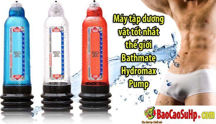 20200111092317 9038349 may tap bathmate hydromax pump 2 1 - Máy tập dương vật tốt nhất thế giới Bathmate Hydromax Pump