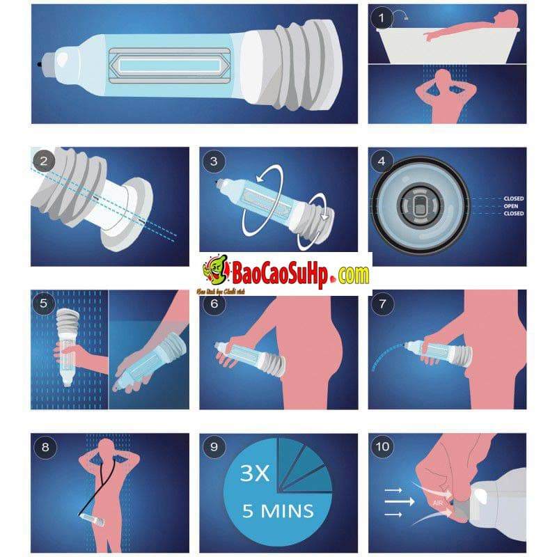 20200111092352 9096182 may tap bathmate hydromax pump 1 - Máy tập dương vật Bathmate Hydromax Pump X30 Nhập khẩu Anh Quốc