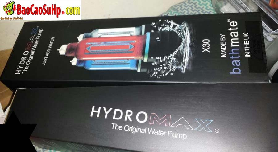 20200111151524 5861239 may tap bathmate hydromax pump 8 - Máy tập dương vật Bathmate Hydromax Pump X30 Nhập khẩu Anh Quốc