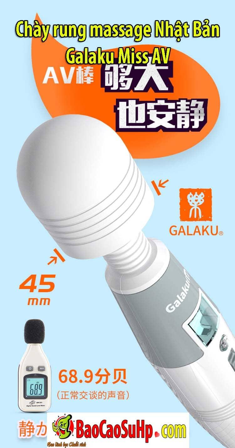20200205111953 9666978 chay rung galaku miss av 9 - Chày rung massage Nhật Bản Galaku Miss AV