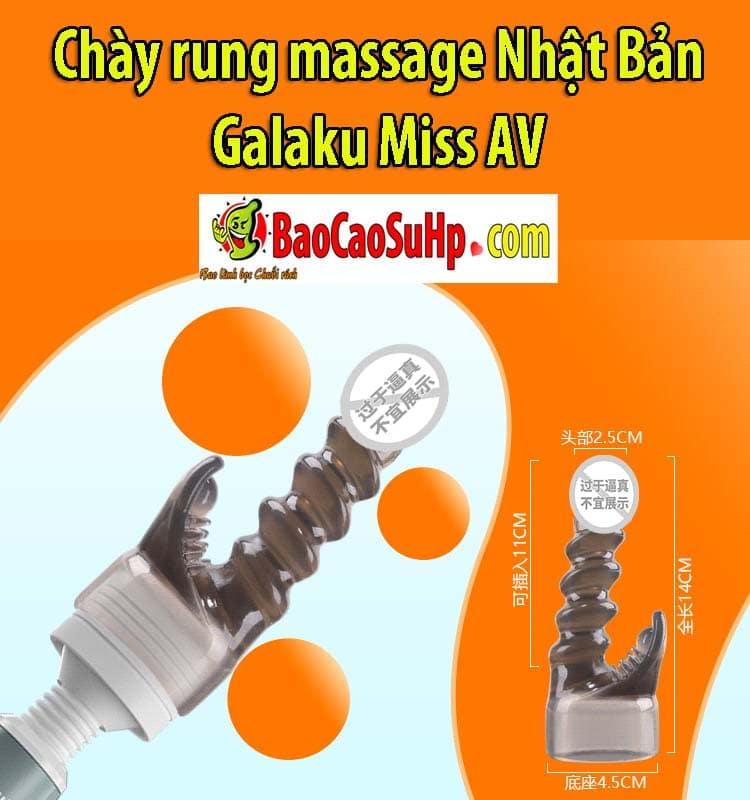 20200205112009 3298316 chay rung galaku miss av 6 - Chày rung massage Nhật Bản Galaku Miss AV