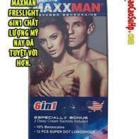Bao cao su Maxman Freslight 6in1 chất lượng Mỹ nay đã tuyệt vời hơn.