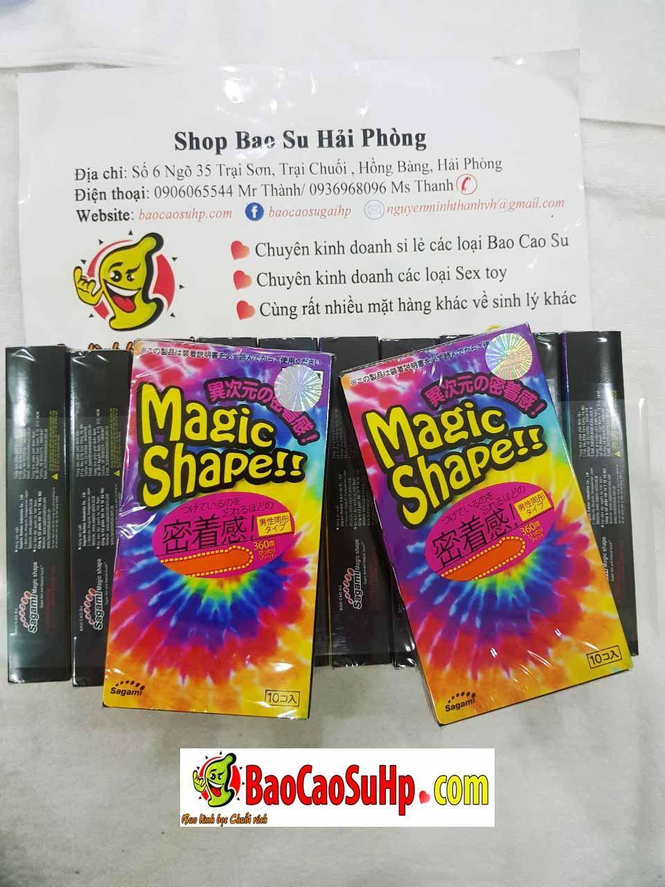20200322083714 4576566 bao cao su nhat ban sagami magic - Bao cao su Sagami Magic Shape (Hộp 10)