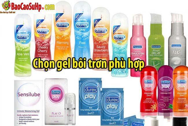 20200406112906 4341908 chon gel boi tron phu hop - Những sai lầm mà nam giới thường mắc phải khi sử dụng cốc tự sướng