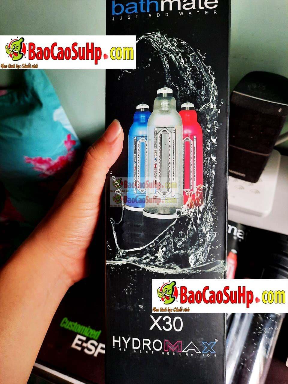 20200417114856 7458560 huong dan su dung may tap bathmate hydromax pump x30 2 - Cách sử dụng Máy tập dương vật Bathmate Hydromax Pump X30 đúng cách và hiệu quả.