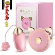 Trứng rung điều khiển từ siêu dễ thương Honey Moe