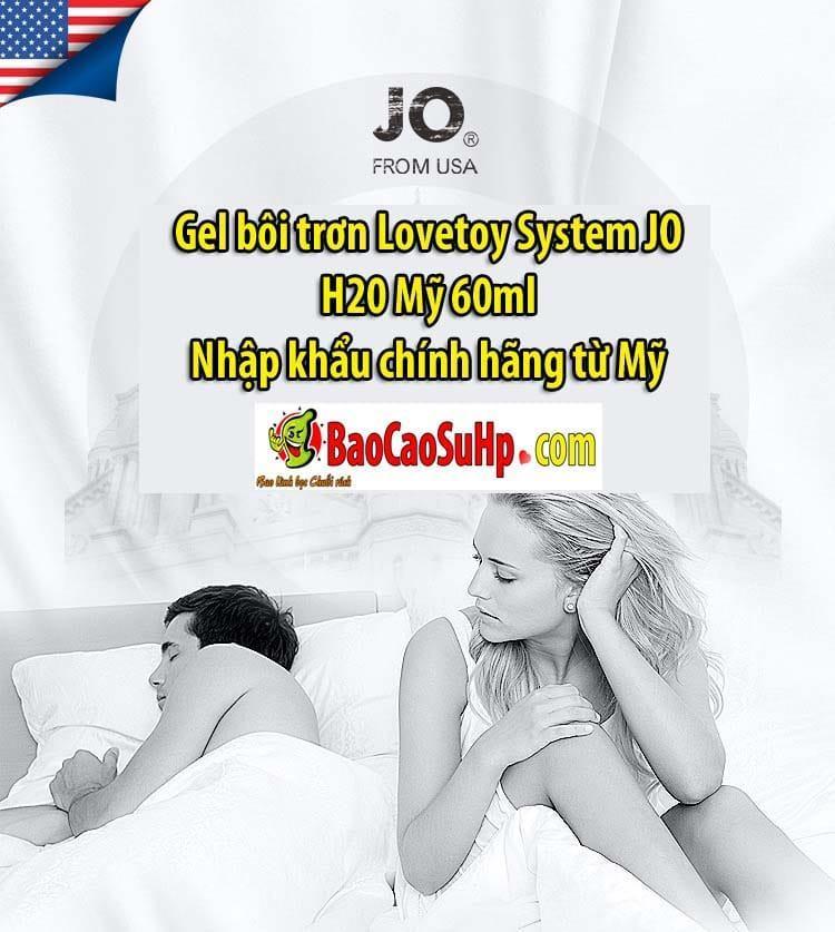 20200501103339 9978293 gel boi tron lovetoy system jo h20 5 - Gel bôi trơn Lovetoy System JO H20 Mỹ 60ml
