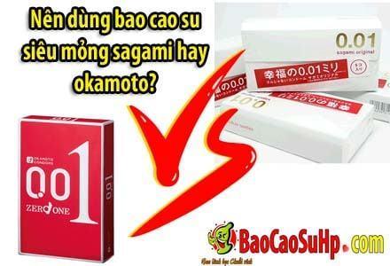 20200506231656 9946319 so sanh sagami vs okamoto - Nên dùng bao cao su siêu mỏng sagami hay okamoto?