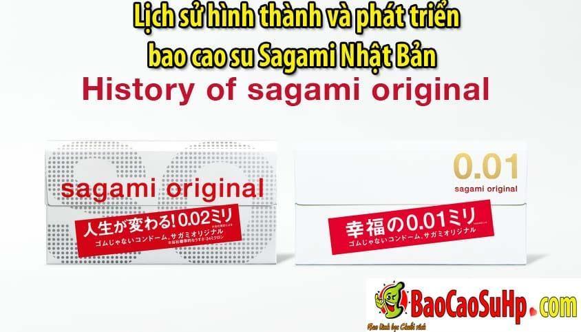 20200507105509 5568537 lich su phat trien bao cao su sagami 1 - Lịch sử hình thành và phát triển bao cao su Sagami Nhật Bản