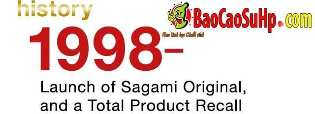 20200507105941 3211897 lich su bao cao su sagami 1998 b - Lịch sử hình thành và phát triển bao cao su Sagami Nhật Bản