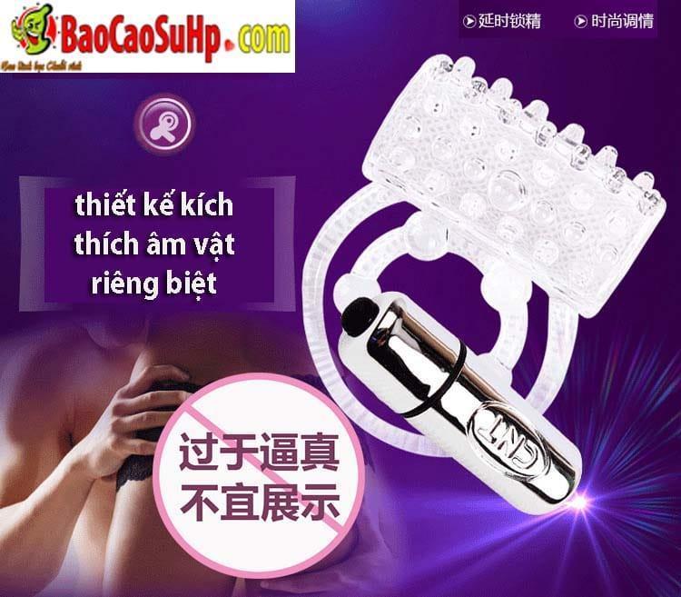 20200528114904 5956279 vong deo duong vat clit 3 - Vòng đeo dương vật CLIT Chisa rung tăng khoái cảm