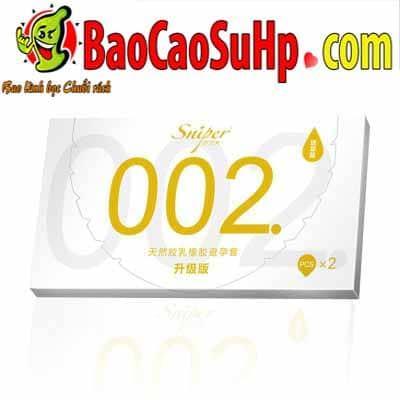 20200531102357 5035960 bao cao su sniper flower 2 - Bao cao su Sniper Flower siêu mỏng 0,02mm