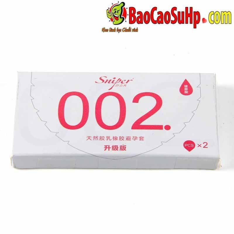 20200531102756 2147290 bao cao su sniper flower 6 - Bao cao su Sniper Flower siêu mỏng 0,02mm