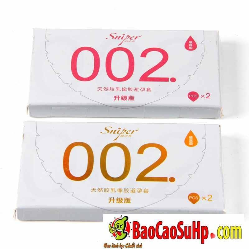 20200531102756 8840049 bao cao su sniper flower 10 - Bao cao su Sniper Flower siêu mỏng 0,02mm
