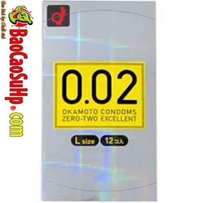 Bao cao su Okamoto 002 Large 400x400 - Top 10 bao cao su nhật bản tốt nhất thế giới