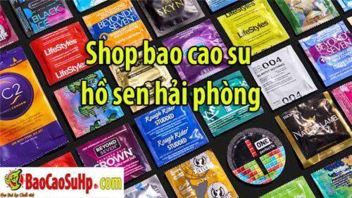 shop bao cao su ho sen hai phong 500x281 - Shop bao cao su hồ sen Lê Chân