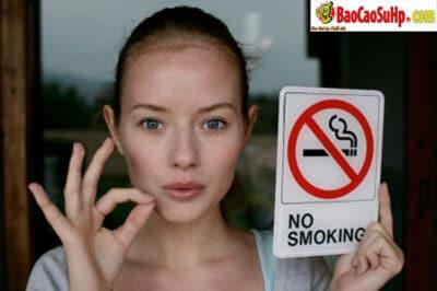Thuốc lá làm giảm năng lực tình dục