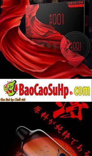 Bao cao su olo Samurai Tegami 1 295x500 - Bao cao su mới của hãng olo siêu mỏng phiên bản Nhật Bản cực xịn