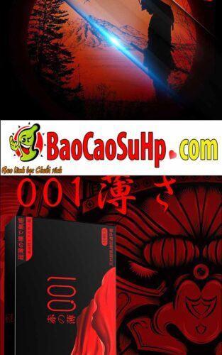 Bao cao su olo Samurai Tegami 2 313x500 - Bao cao su mới của hãng olo siêu mỏng phiên bản Nhật Bản cực xịn