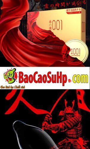 Bao cao su olo Samurai Tegami 4 302x500 - Bao cao su mới của hãng olo siêu mỏng phiên bản Nhật Bản cực xịn