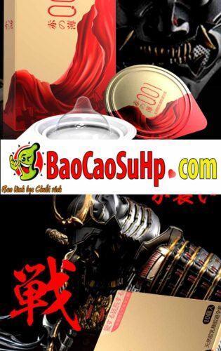 Bao cao su olo Samurai Tegami 6 315x500 - Bao cao su mới của hãng olo siêu mỏng phiên bản Nhật Bản cực xịn