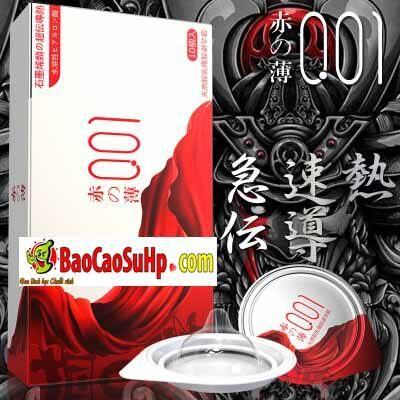 Bao cao su mới của hãng olo siêu mỏng phiên bản Nhật Bản cực xịn