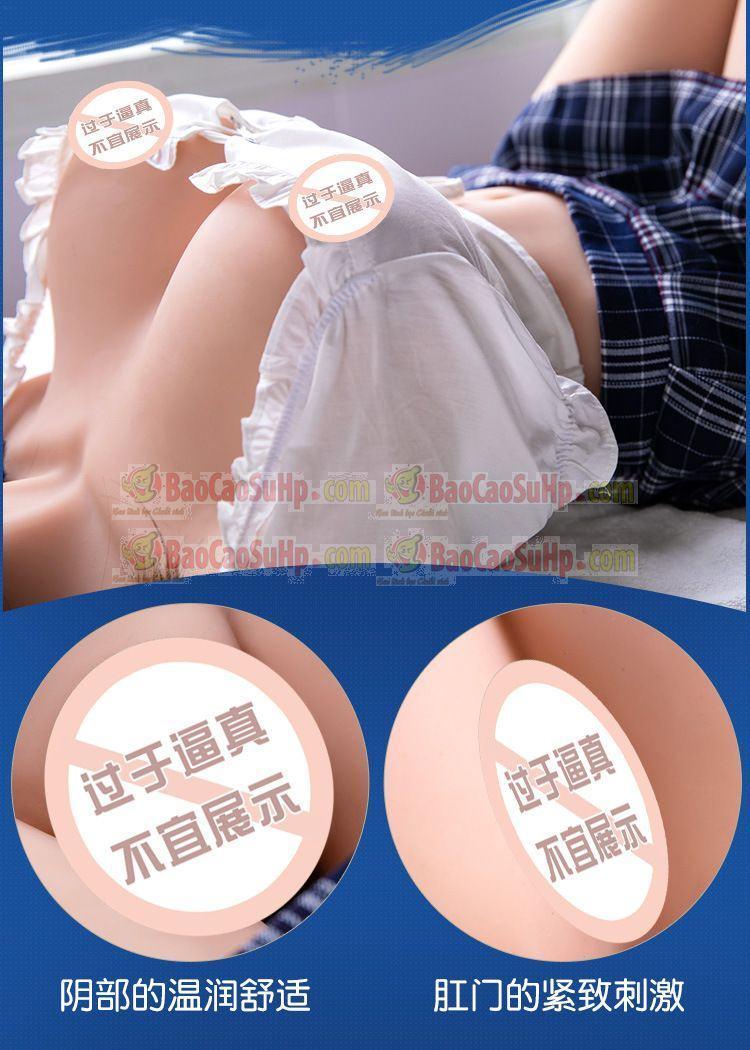 bup be tinh duc Huakia Mizzzeee 10 - Búp bê tình dục bán thân ngực siêu bự Queenny More