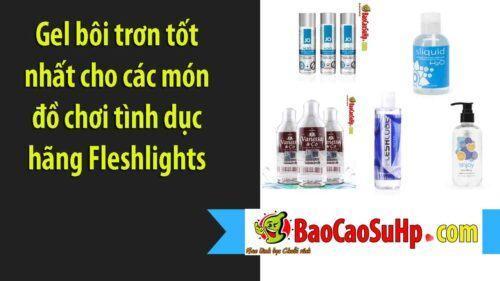 gel boi tron phu hop voi am dao Fleshlight 500x281 - Gel bôi trơn tốt nhất cho các món đồ chơi tình dục hãng Fleshlights