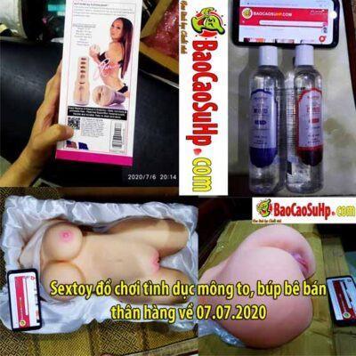 Sextoy đồ chơi tình dục mông to, búp bê bán thân hàng về 07.07.2020