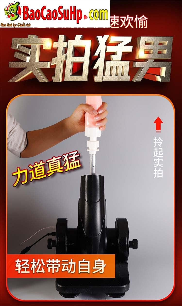 sextoy machine duong vat thut ngoay Storm Wash 10 - Súng thần công tự động thụt giật phát nhiệt AZ2 cực mạnh