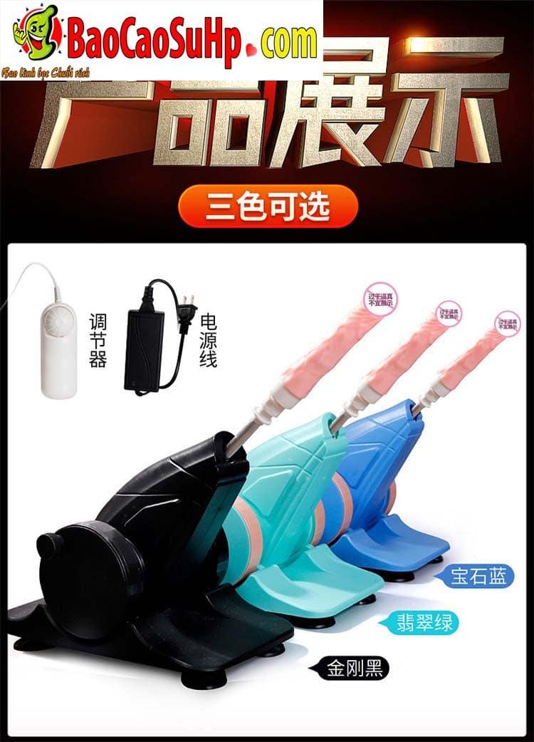 sextoy machine duong vat thut ngoay Storm Wash 22 - Súng thần công tự động thụt giật phát nhiệt AZ2 cực mạnh