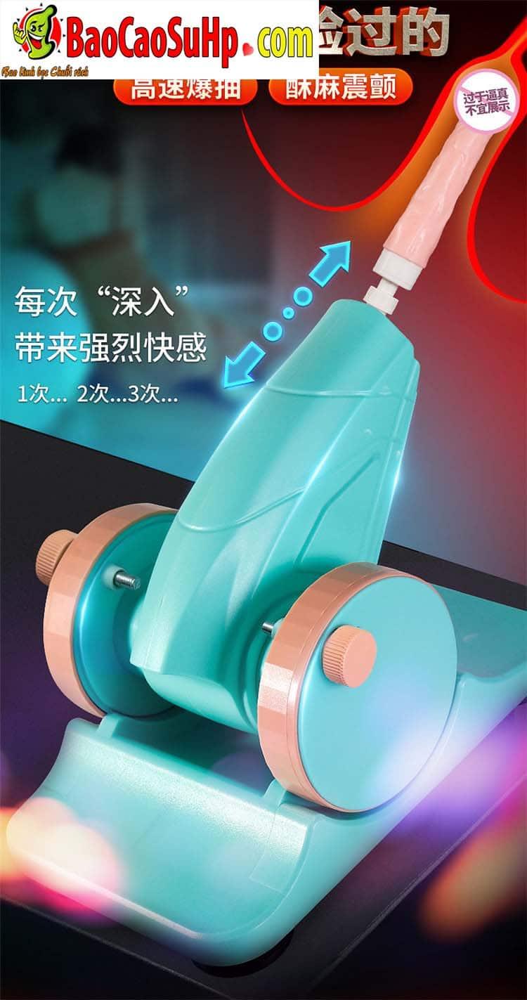 sextoy machine duong vat thut ngoay Storm Wash 9 - Súng thần công tự động thụt giật phát nhiệt AZ2 cực mạnh