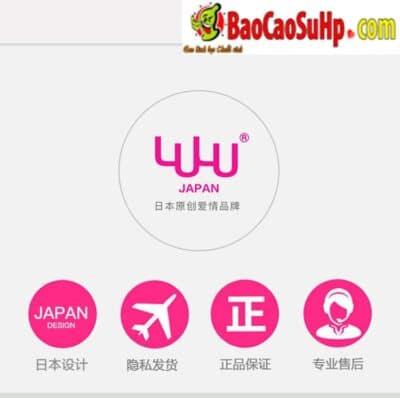 bao cao su woo utrathin 4 400x398 - Woo hãng bao cao su đồ chơi tình dục chất lượng đến từ Nhật Bản