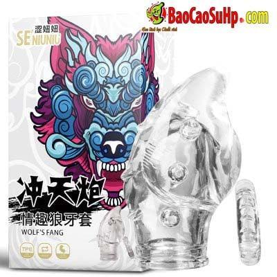 Bộ đôi bao cao su donden đầu Wolf tăng kích thước cậu bé!